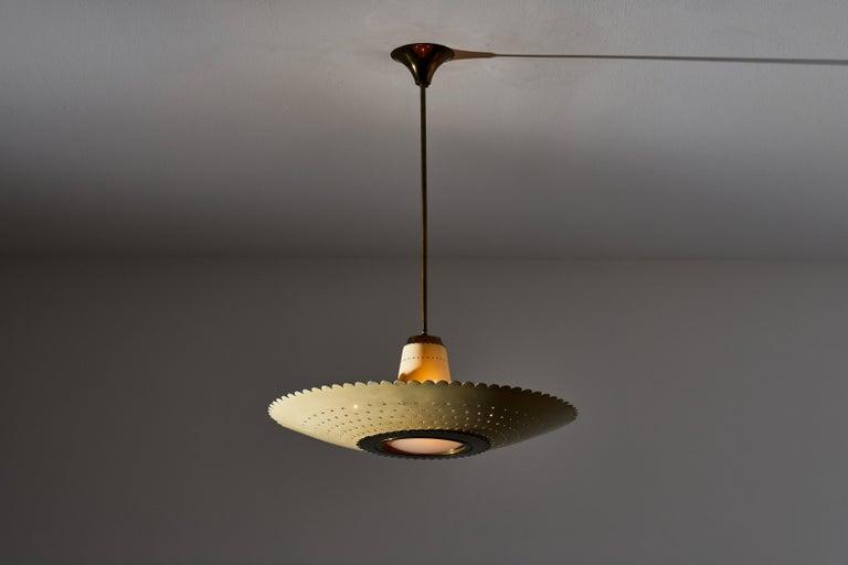 Mid-Century Modern Suspension Light by Stilux