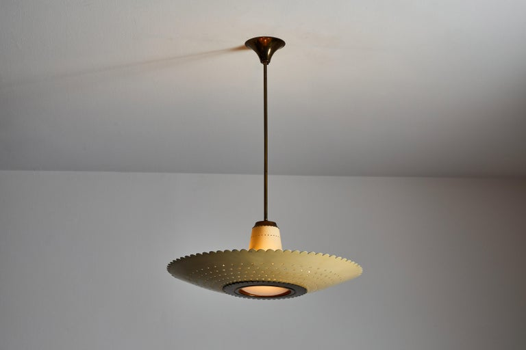 Lacquered Suspension Light by Stilux