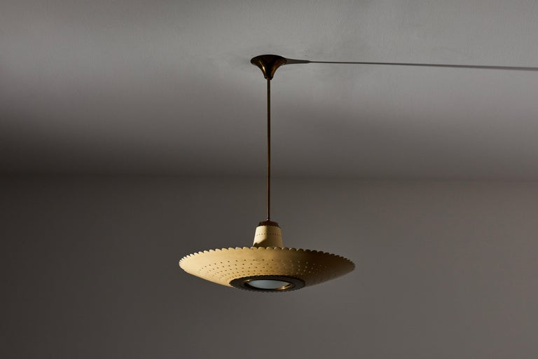 Suspension Light by Stilux In Good Condition In Los Angeles, CA
