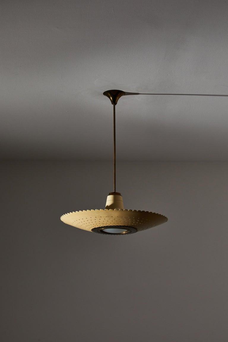 Mid-20th Century Suspension Light by Stilux
