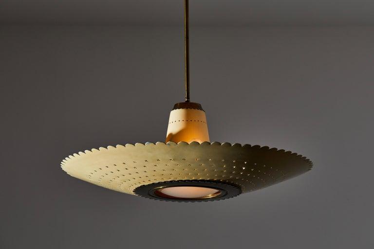 Brass Suspension Light by Stilux