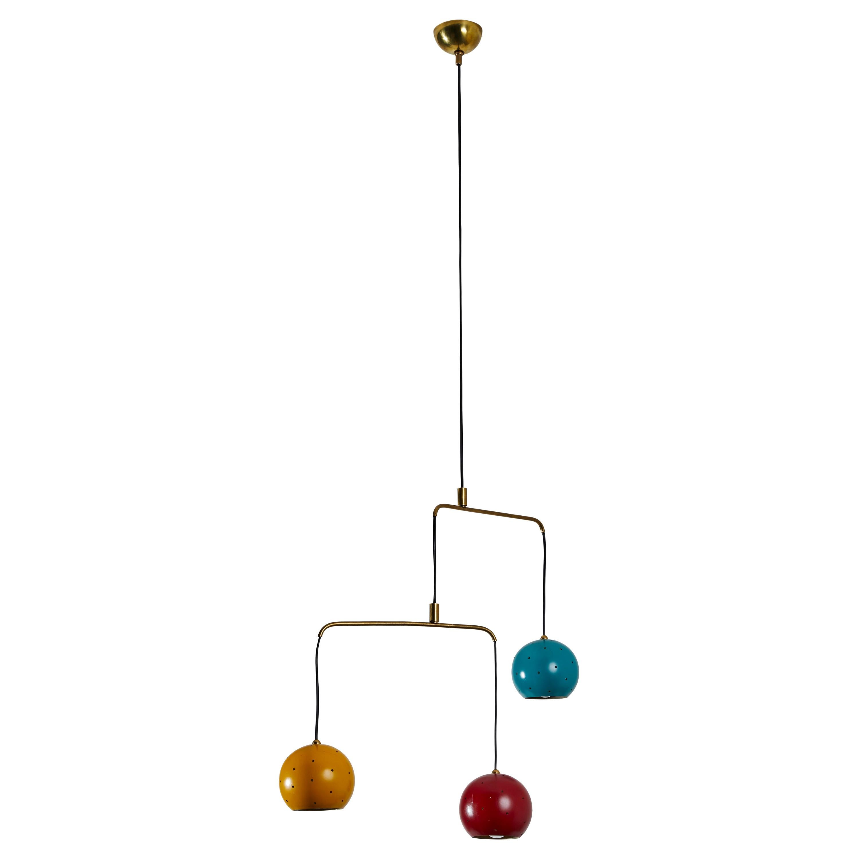 Mobile Chandelier by Stilux