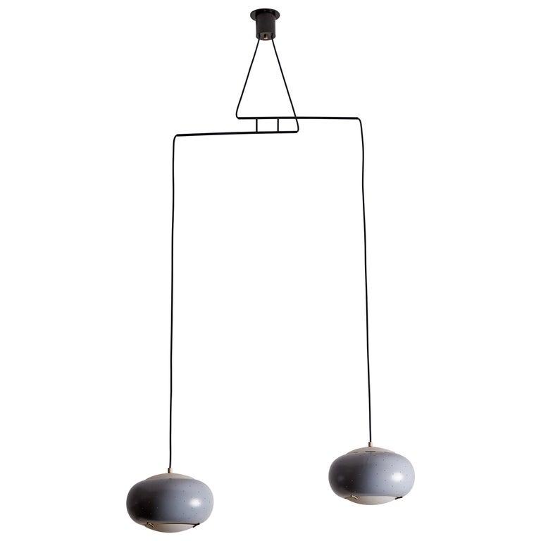 Suspension Light by Stilux For Sale