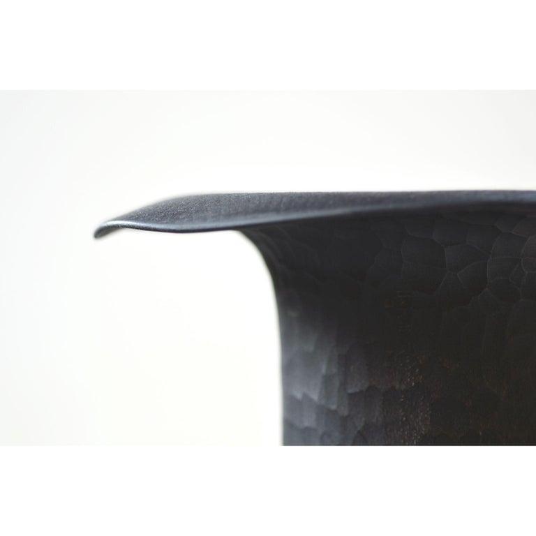 Modern Sussin Sculpture, Small, Dark by Antrei Hartikainen For Sale