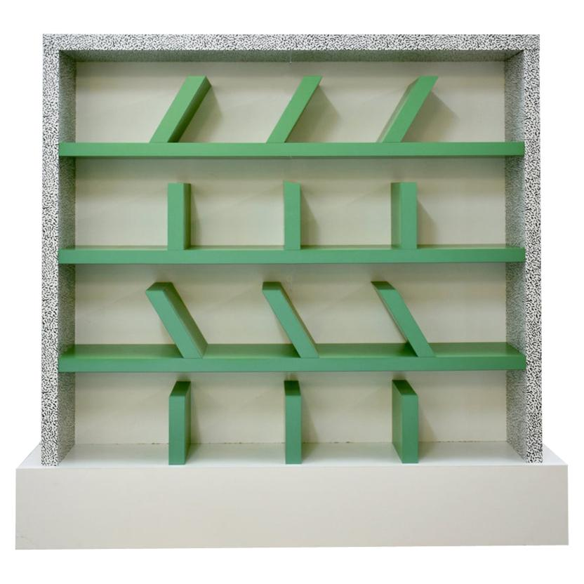 'Suvretta' Bookcase, Ettore Sottsass for the 1st Memphis Milano Collection, 1981