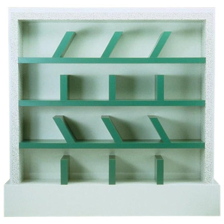 Suvretta Plastic Bookcase, by Ettore Sottsass from Memphis Milano For Sale