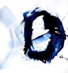 Diamond Sea, Painting, Acrylic on Paper