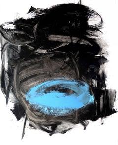 Kyoto Night, Painting, Acrylic on Paper