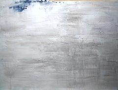 Silver Morning / Light Rain, Painting, Acrylic on Canvas