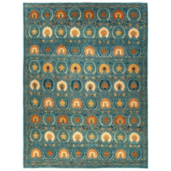 Suzani, Hand Knotted Area Rug