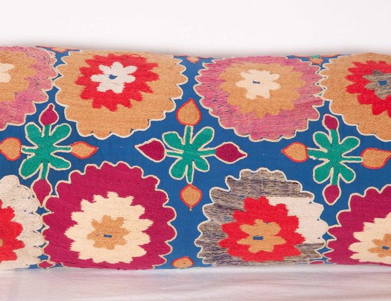 Suzani Lumbar Pillow Cases, Uzbekistan, Mid-20th Century For Sale 2
