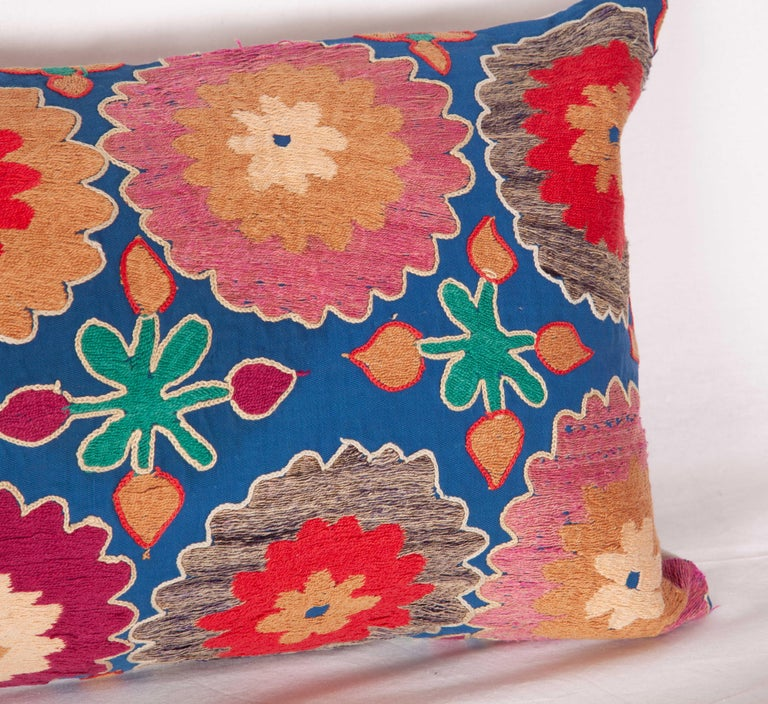 Suzani Lumbar Pillow Cases, Uzbekistan, Mid-20th Century For Sale 3