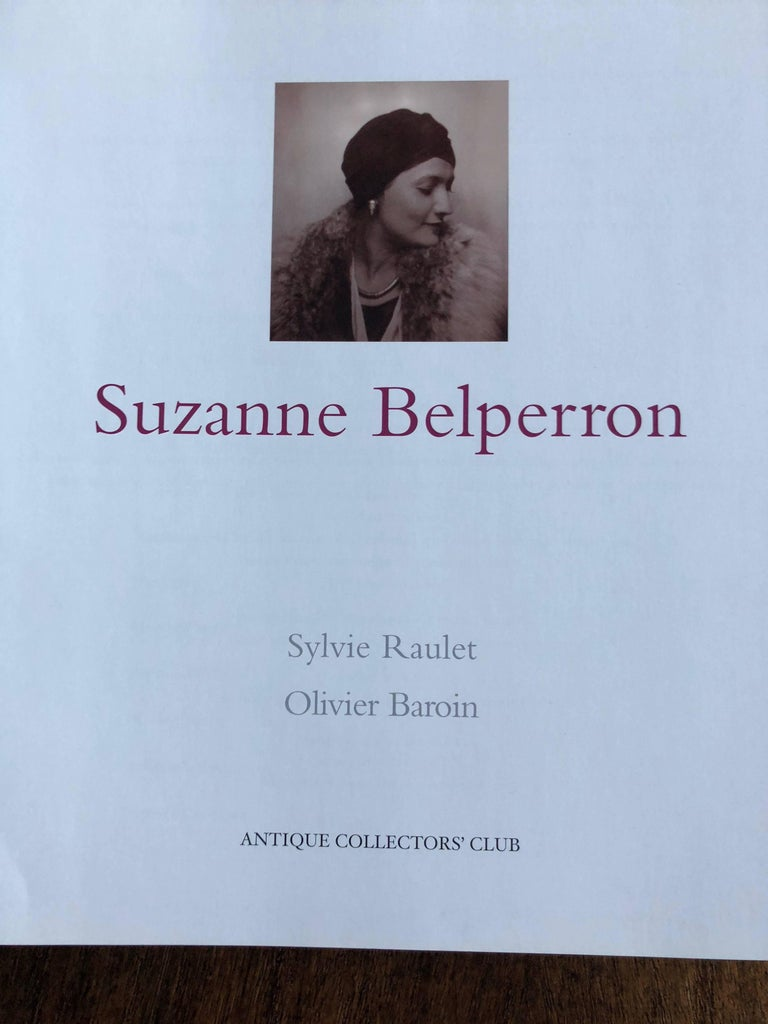 Rare book on the jewelry of Suzanne Belperron. Opened and looked at once, in excellent as new condition BIBLIOTHÈQUE DES ARTS; BIBLIOTHEQUE DES ARTS edition 11.2 x 1.4 x 11.2 inches  5.8 pounds