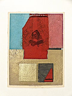 Benton, Catherine Marya Sedgewick, monoprint with Chine collé, PioneerActivist