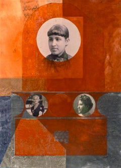 Benton_Mary Church Terrell Over Time_Oberlin College Women_monoprint, collage