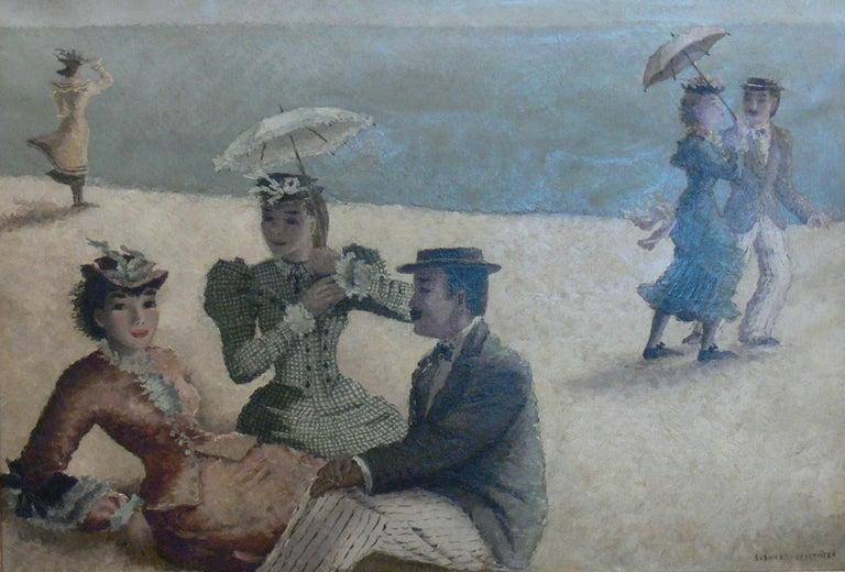 Suzanne Eisendieck Oil on Canvas