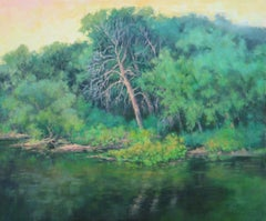 River Sentinel, Oil Painting
