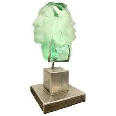 Suzanne Regan Pascal Glass Sculpture