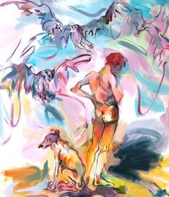 """Elysium Flats, Oil on Canvas, 78"""" x 68"""""""
