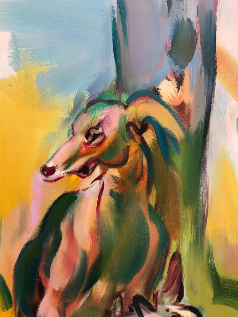 Salvage, Oil on canvas, 78