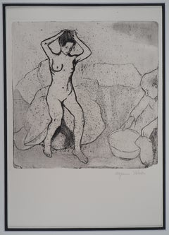 La toilette - Original handsigned etching