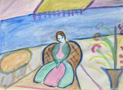 Mid 20th Century French Fauvist Painting - Amazing Colors - pupil of Andre Lhote