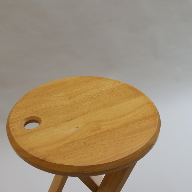 English Suzy Stool Designed by Adrian Reed for Princes Design Works
