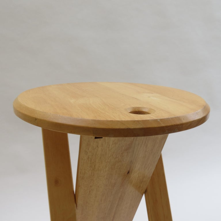 Wood Suzy Stool Designed by Adrian Reed for Princes Design Works