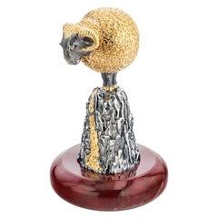 SV925 Gold-Plated Golden Fleece Shot Cup, MOISEIKIN