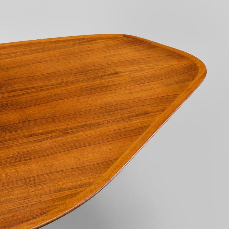 Svante Skogh Freeform Coffee Table in Walnut 1