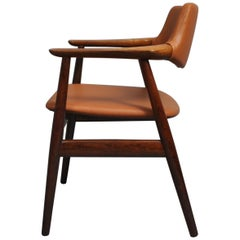 Sven Aage Eriksen Desk Chair, All New Leather Upholstery