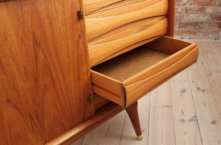 Sven Andersen Sideboard in Teak, Scandinavian Modern, Mid-Century Modern 8