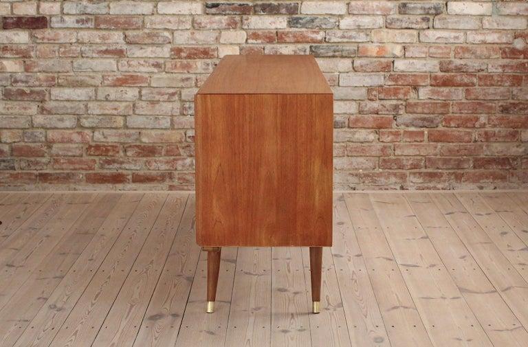 Mid-20th Century Sven Andersen Sideboard in Teak, Scandinavian Modern, Mid-Century Modern