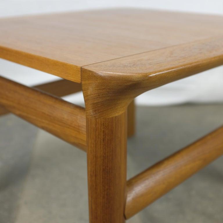 Sven Ellekaer 'Borneo' Teak End Table For Komfort For Sale