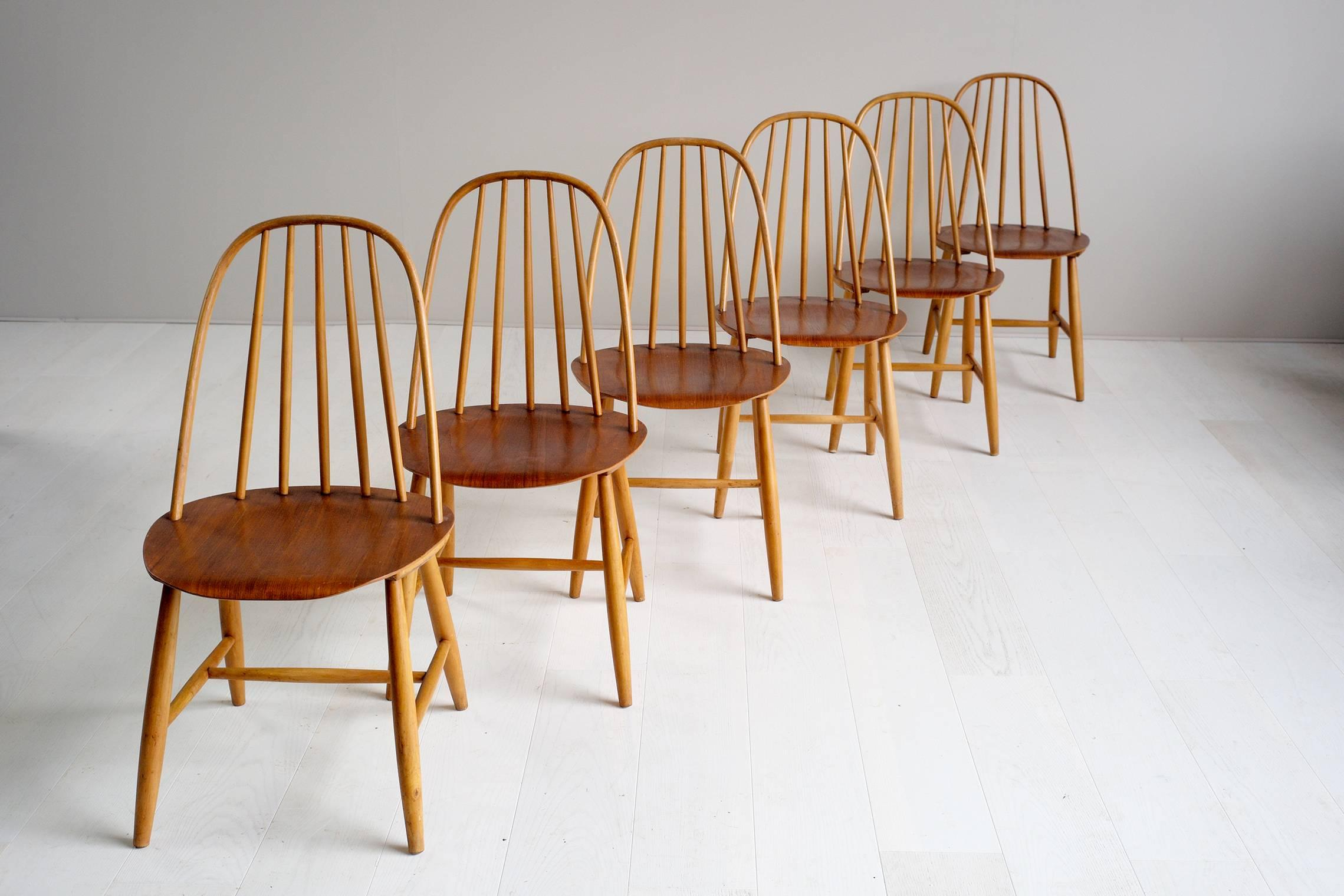 Dining Chairs By Sven Erik Fryklund