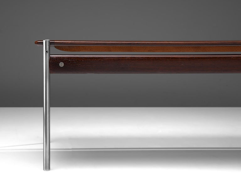 Sven Ivar Dysthe Coffee Table in Rosewood For Sale 1