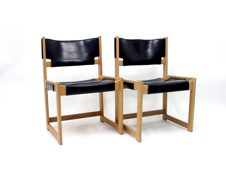 Scandinavian Modern Sven Kai Larsen Chairs for Nordiska Kompaniet, Set of 2 For Sale