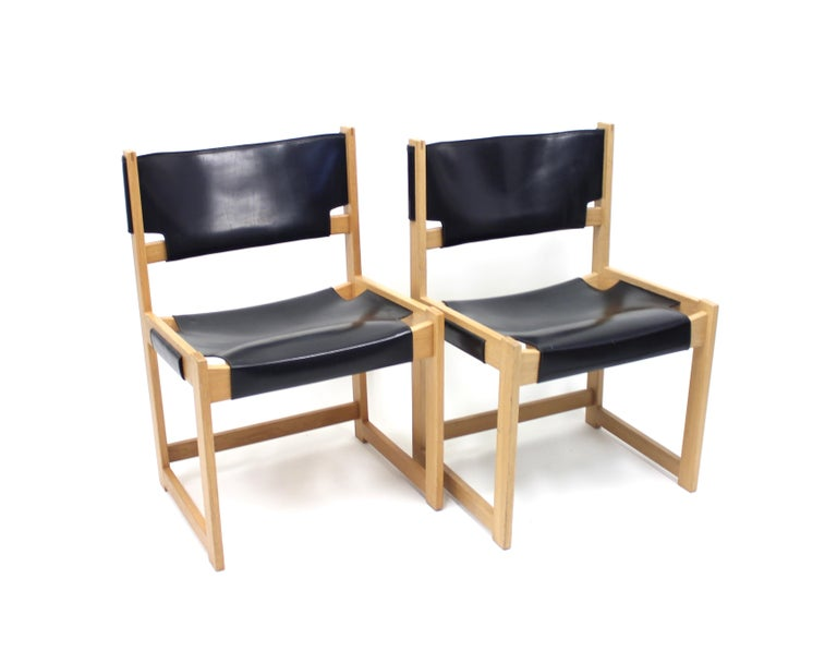 Mid-20th Century Sven Kai Larsen Chairs for Nordiska Kompaniet, Set of 2 For Sale