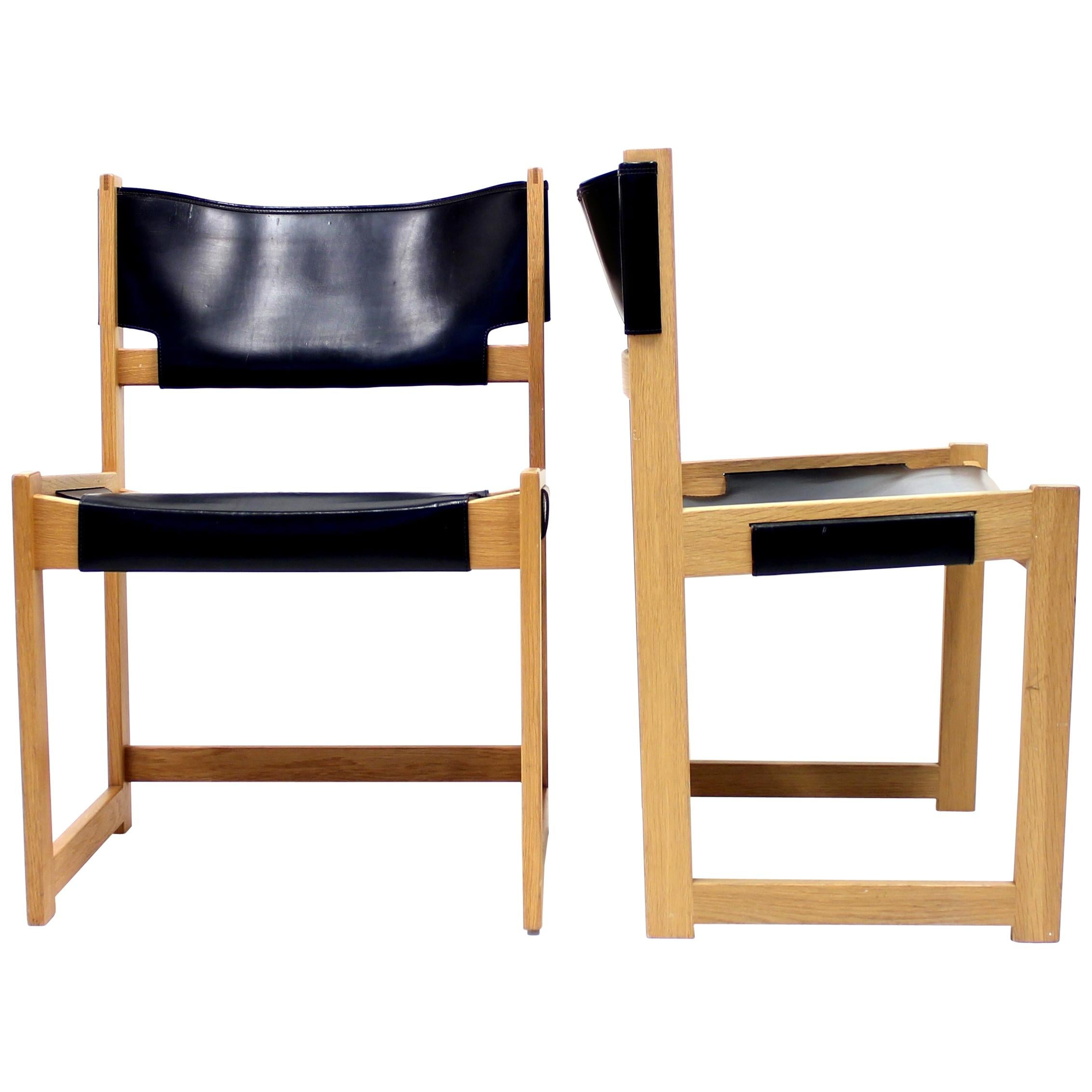 Sven Kai Larsen Chairs for Nordiska Kompaniet, Set of 2