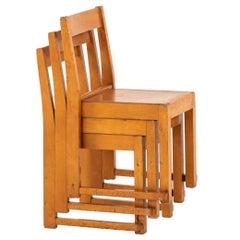 Sven Markelius Children Chairs Produced in Sweden