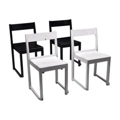 Sven Markelius 'Orchestra' Chairs Black & White