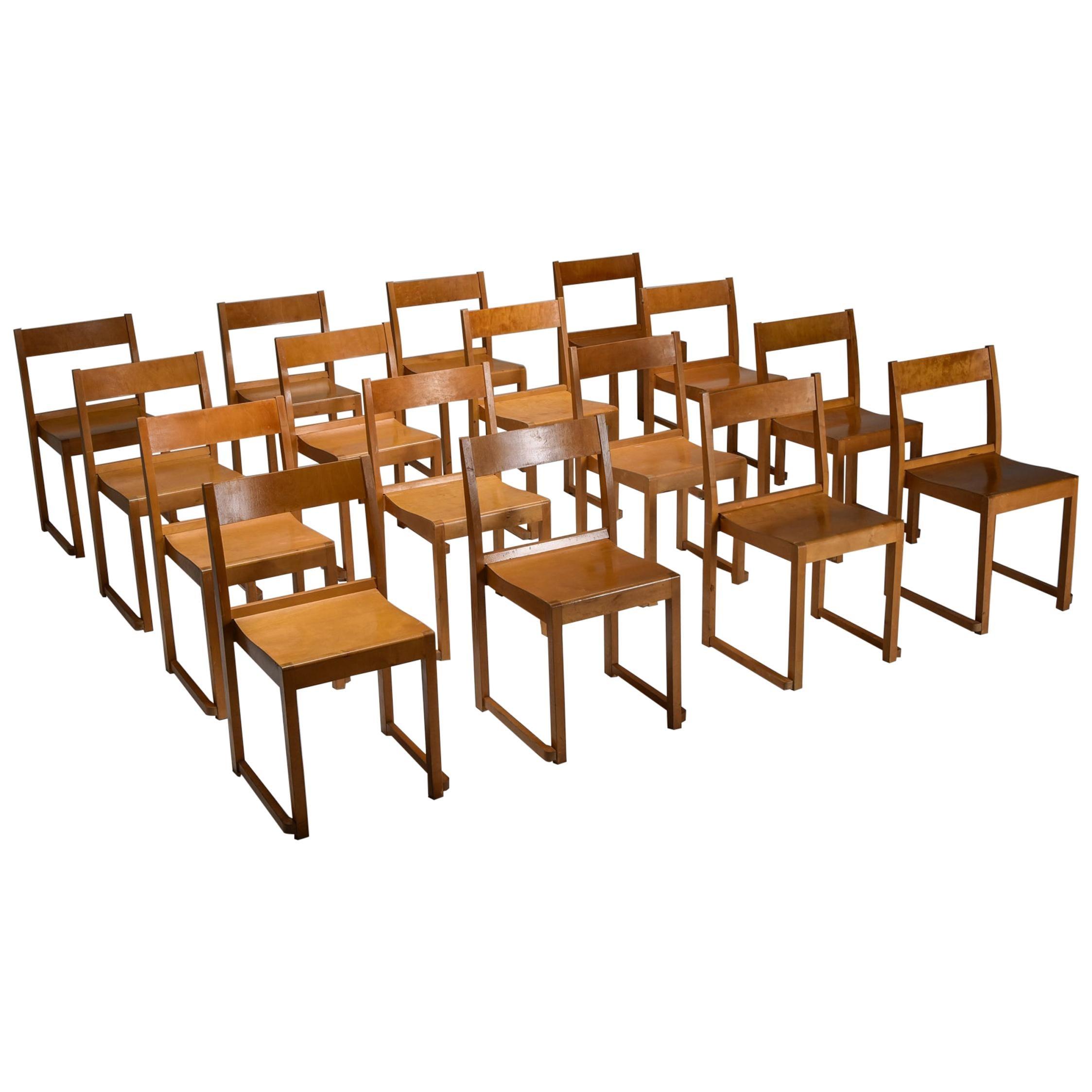 Sven Markelius 'Orchestra' Chairs