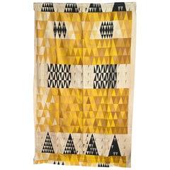 "Sven Markelius ""Pythagoras"" for Knoll Textiles Drapery Panel"