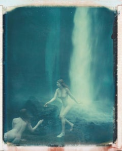 Angel of the Waterfall - Contemporary, 21st Century, Polaroid, Figurative, Nude
