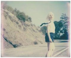 Mulholland Drive - Contemporary, 21st Century, Polaroid, Figurative Photograph