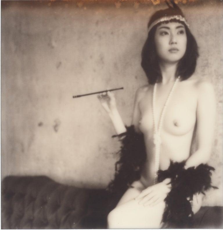 Sven van Driessche Black and White Photograph - Untitled - Polaroid, 21st Century, Contemporary, Nude, Women