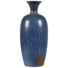 Sven Wejsfelt, Unique Swedish Modern Stoneware Vase, Gustavsberg, 1989