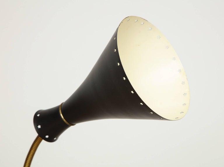 Mid-Century Modern Svend-Åage Holm Sorensen, Danish Adjustable Standing Lamp For Sale