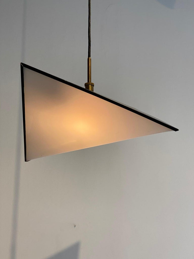 Scandinavian Modern Svend Aage Holm Sorensen Light Pendant, 1960s