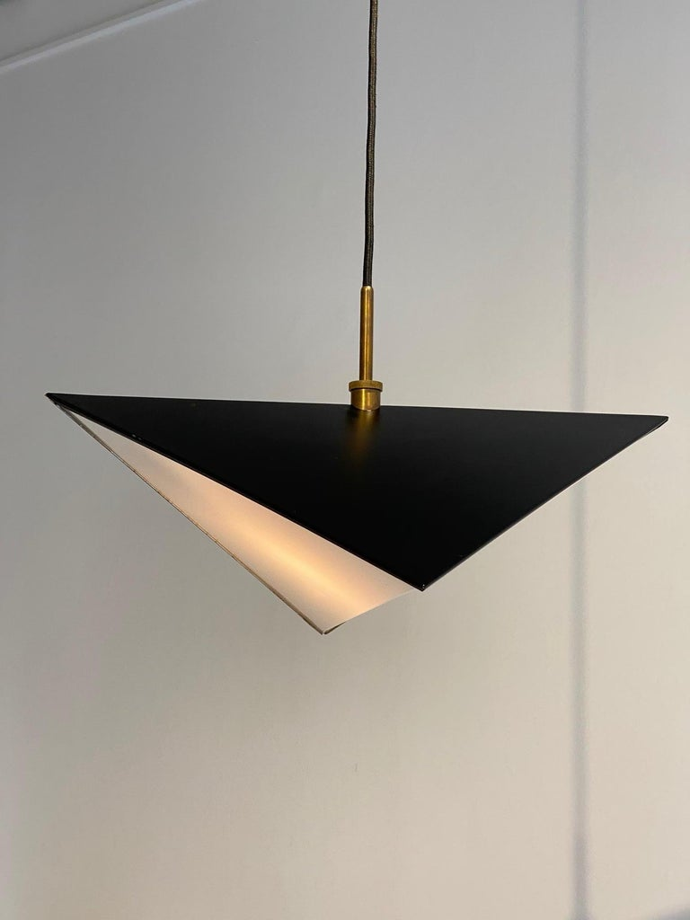 Danish Svend Aage Holm Sorensen Light Pendant, 1960s